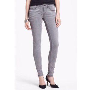 Free People Womens Gray Skinny Jeans